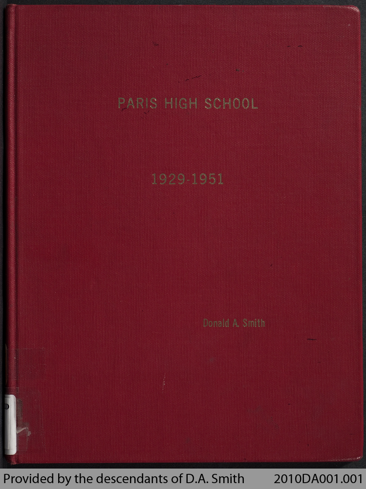 Paris High School, 1929 - 1951