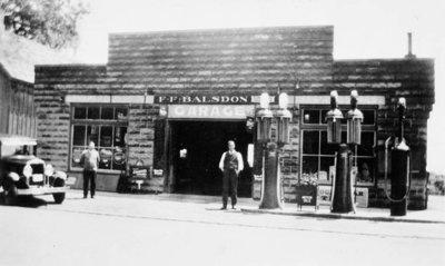 F.F. Balsdon Garage, Burford, ca. 1925