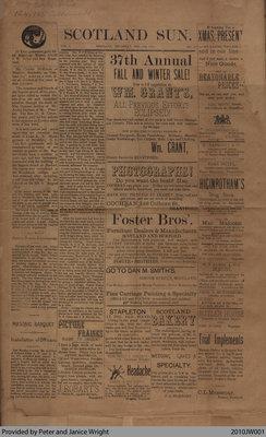 The Scotland Sun, December 28th, 1893