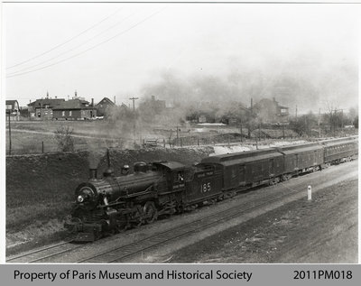 Photo of a Grand Trunk Railway Passenger Train