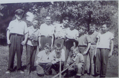 Queen's Ward Soft Ball Team (ca. 1943)