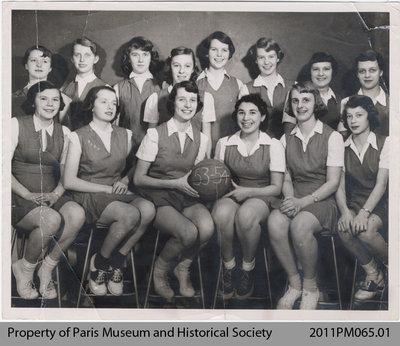 Junior Girls Basketball Team