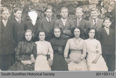 Class Photo of 1912