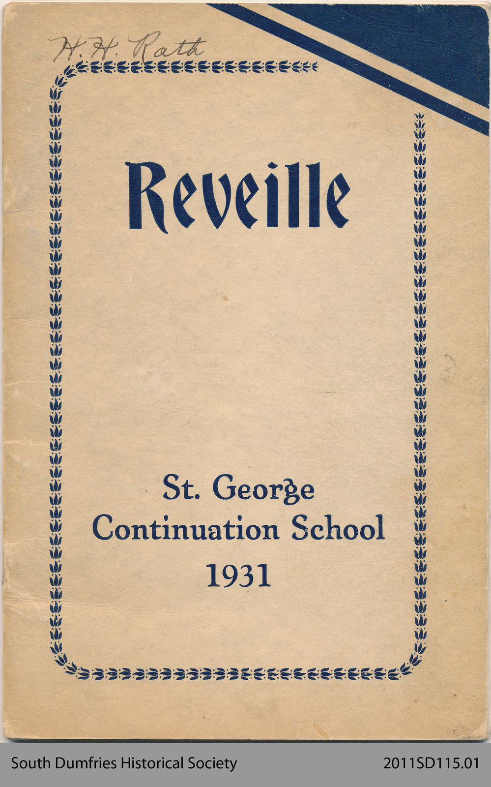 """""""Reveille"""""""