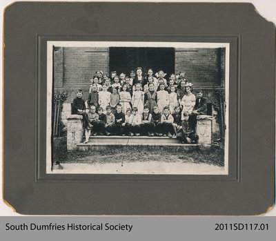 St. George School Class Photo