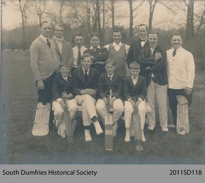 Cricket Team, ca. 1930