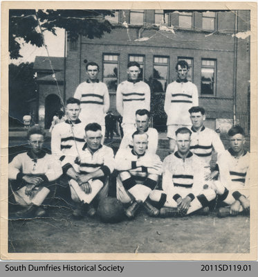 Soccer Team of Bruce's School