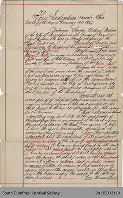 Indenture Between Clarke Arthur Batson and the City of Brantford