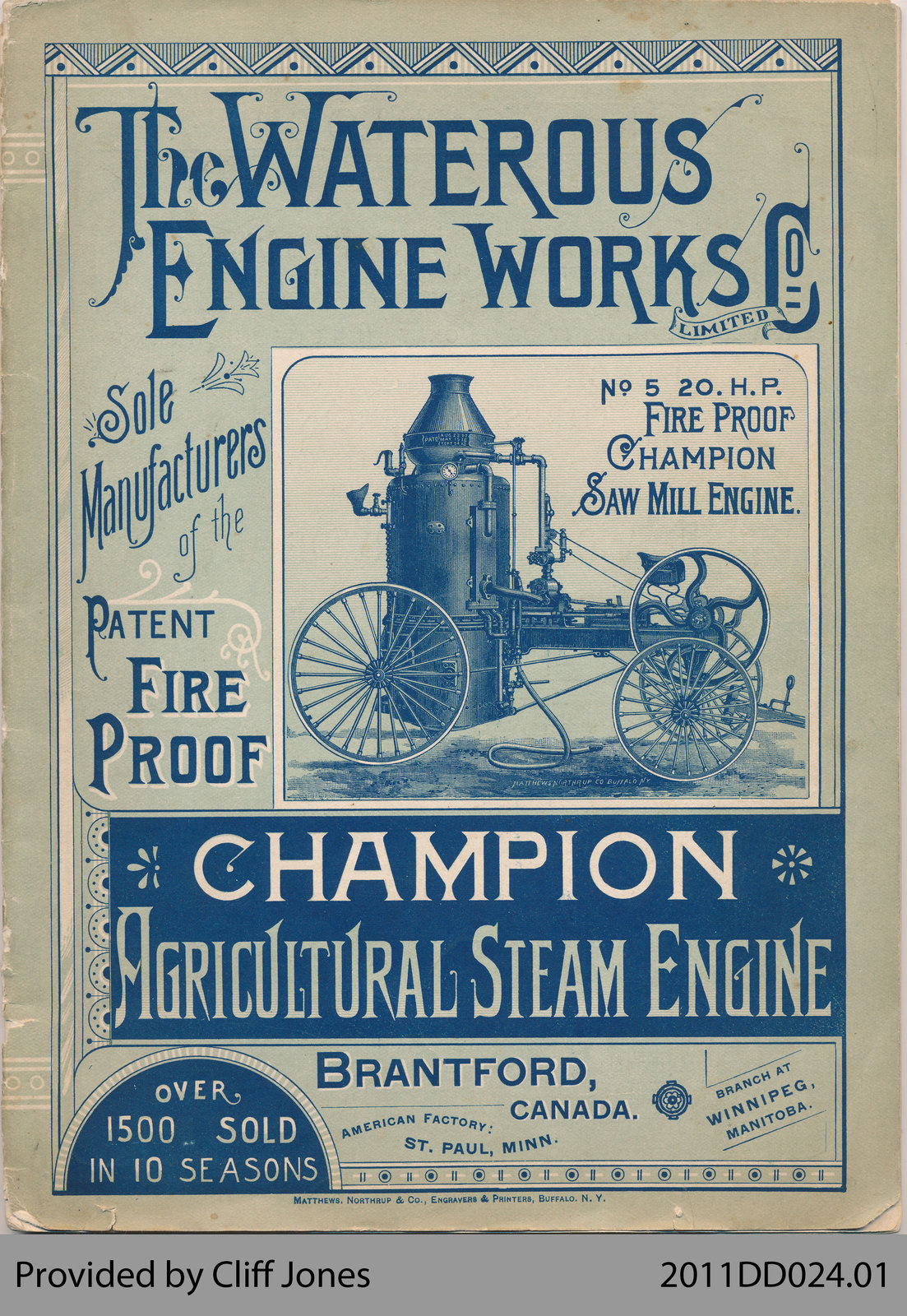 The Waterous Engine Works