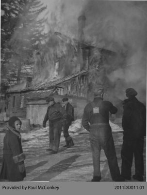 Old Saas Bakery Fire