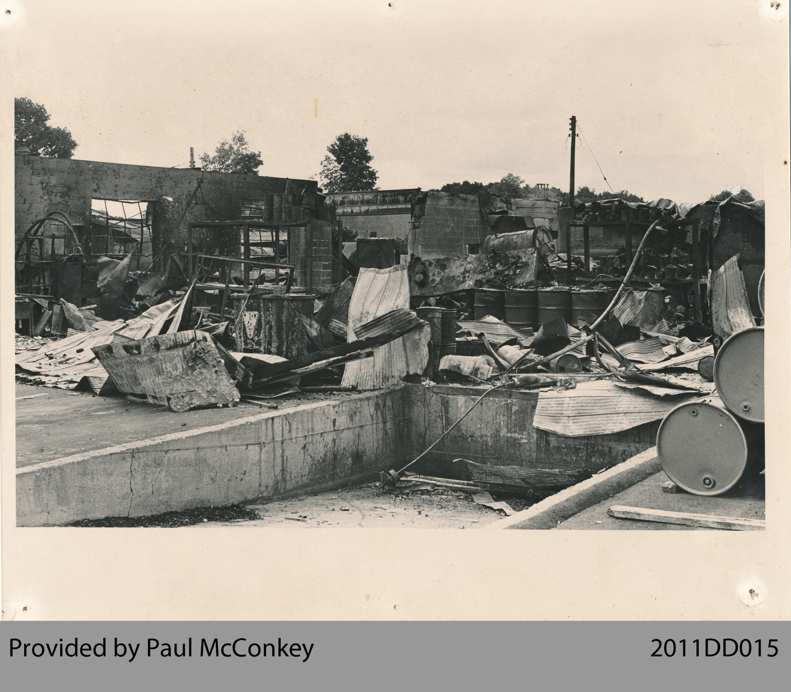 Lee Paint Factory Fire Aftermath