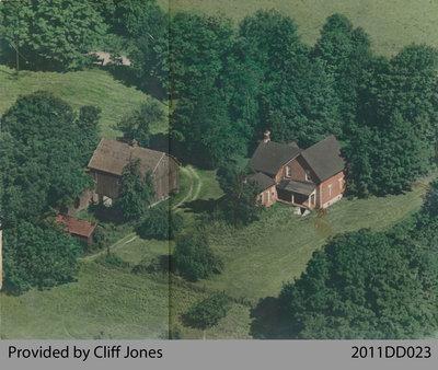 South Wait Farm Aerial Photo