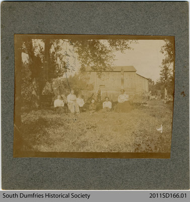 Mailtand Family in the Garden at St. George