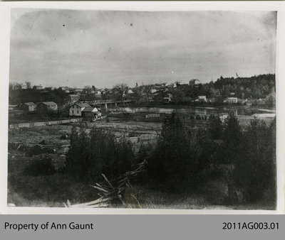 View of Glen Morris From the West Side of the Grand River