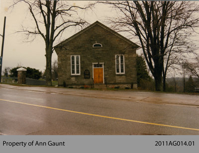 Photo of the United Church in Glen Morris