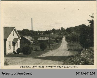 J.D. Smith Saw Mill in Glen Morris