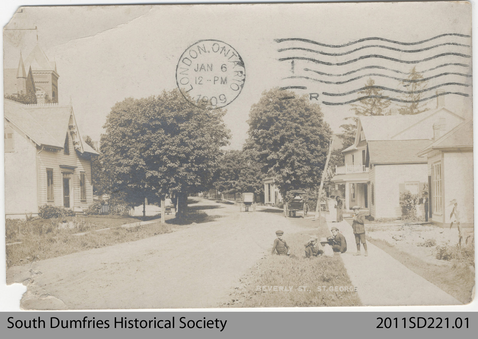 Full Image View Beverly Street In St George County Of Brant Public Library Digital Collections