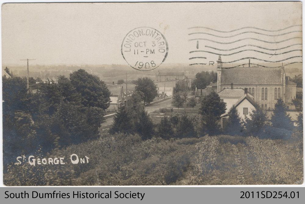 Postcard Depicting St. George, Ont.