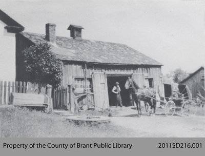 Old Blacksmith's Shop