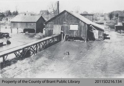 J. D. Smith's Lumber Yard