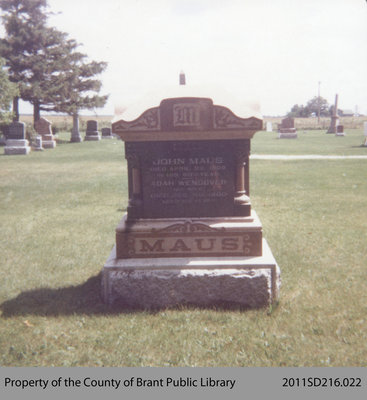 John Maus's Tombstone