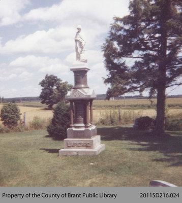 Louise La Pierre's Tombstone