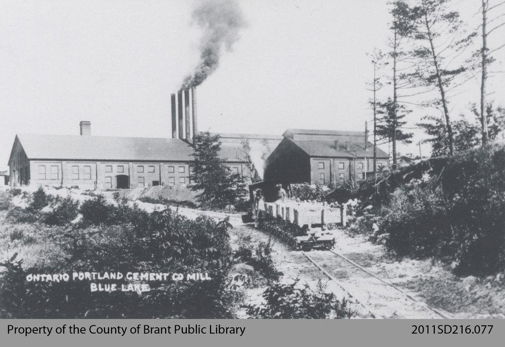 Portland Cement Mill Diagram : Ontario portland cement co mill county of brant public