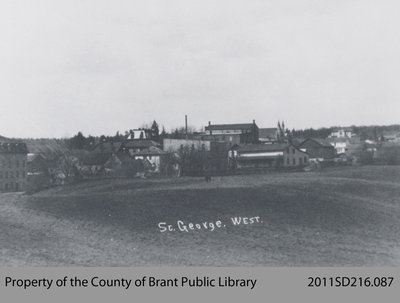 West View of St. George