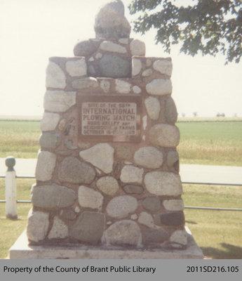International Plowing Match Memorial