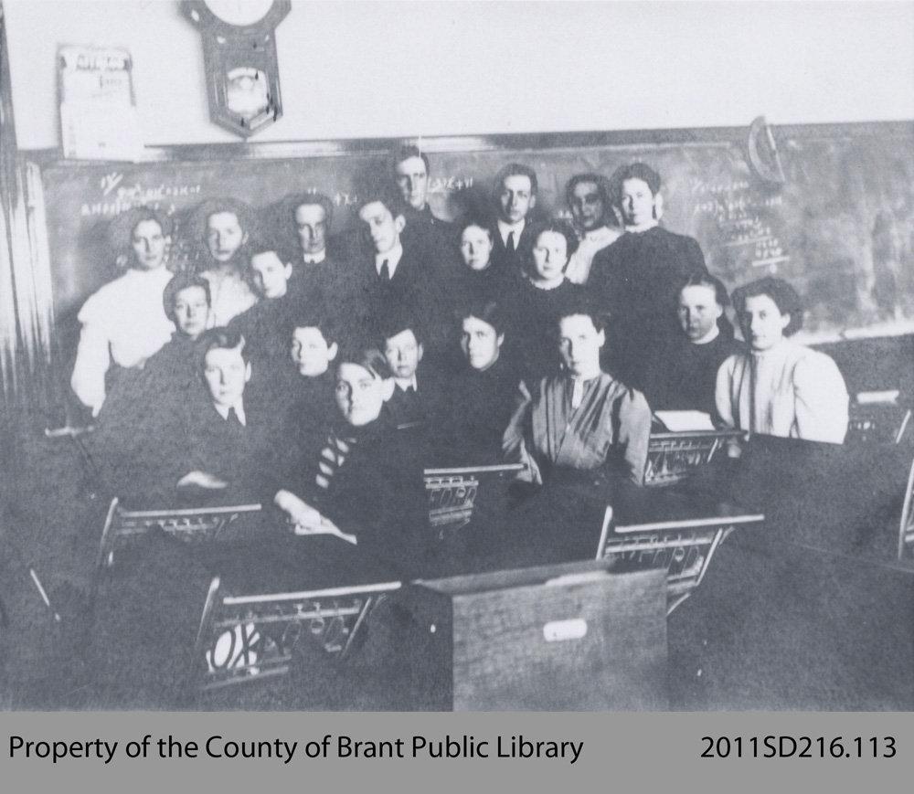 St. George School Class Photo