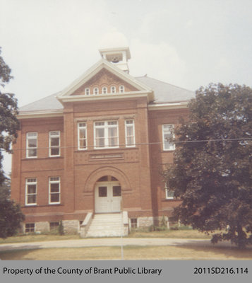 Old Public School in St. George