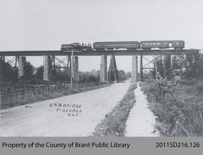 Grand Trunk Railway Bridge in St. George