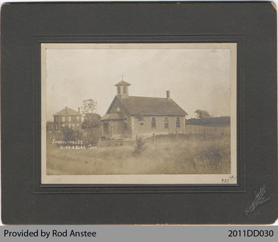 School-House in Harrisburg, Ont.