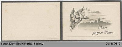 Funeral Card, G. Hartley Johnson