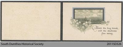 Funeral Card: Thomas John Sharp