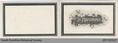 Funeral Card, Janet Hope