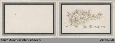 Funeral Card, Eleanor Boist