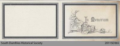 Funeral Card, John L. Bonham