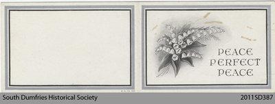 Funeral Card, Anna McPherson