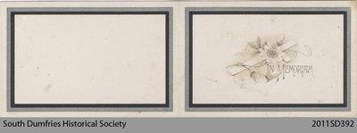 Funeral Card, David Russel Ronald