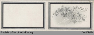 Funeral Card, Lavina E. Griffith