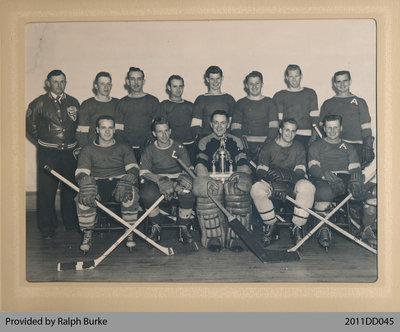 Photo of a Hockey Team