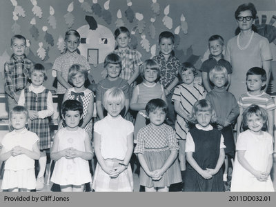 Kindergarten Students From Dumfries Public School