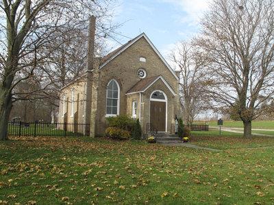 Salt Springs Church, November 2011.