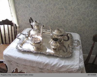 Adelaide Hoodless's Silver Tea Set