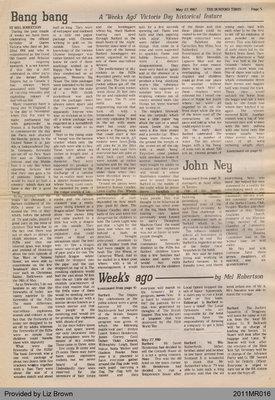 Bang Bang by Mel Robertson, from The Burford Times