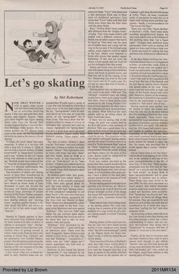 Let's Go Skating by Mel Robertson, from The Burford Times
