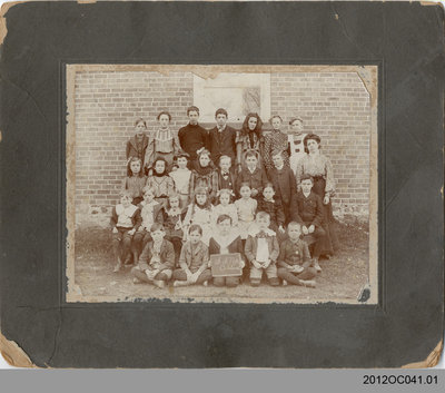 Scotland School S. S. No 2 Class Photo
