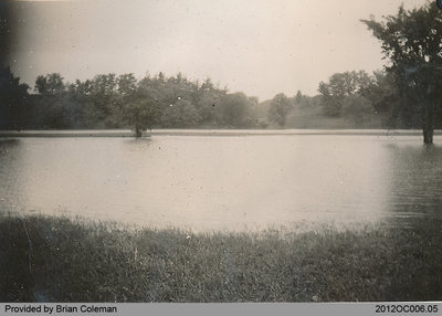 Flood of the Grand River in May 1942