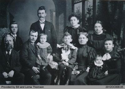 Thomson Family 1891